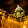 Night at the Pantheon.