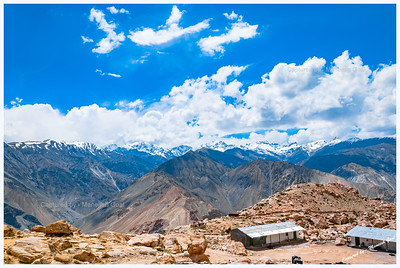 Himalayan Panorama - View from Nako