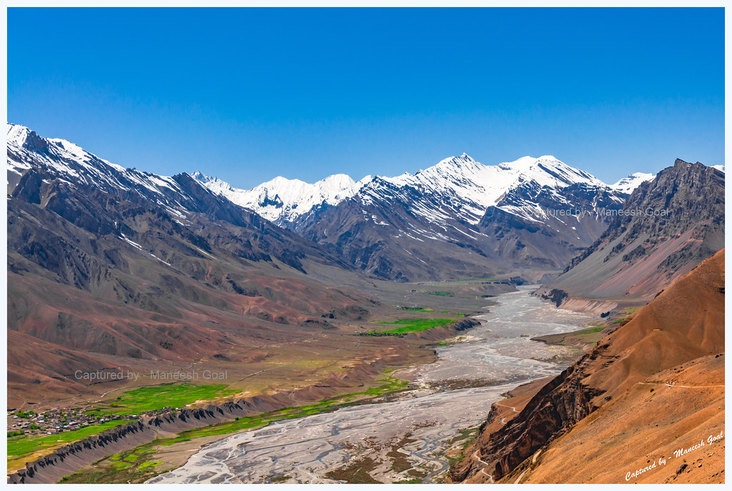 Spiti Valley | Scene along the Hikkim - Kaza route