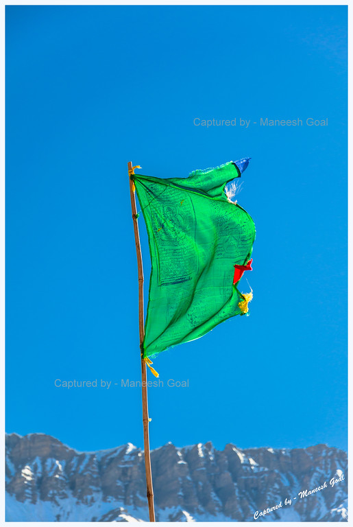 Prayer Flag at Kaza