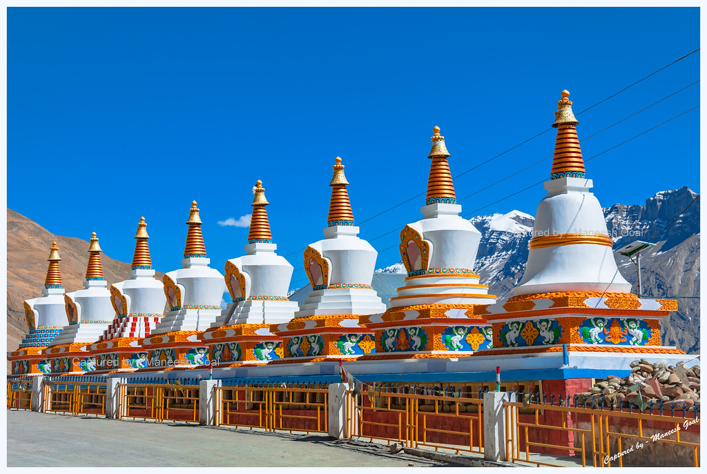Chortens at Kaza