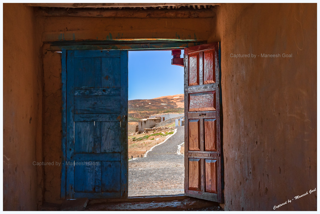 Opening the door to freedom... (Komic, Spiti Valley, Himachal Pradesh)
