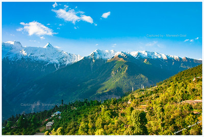 Kalpa at sunrise