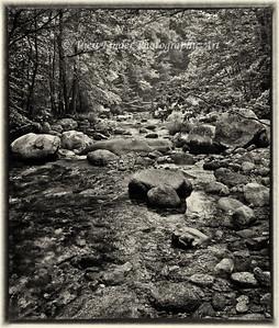 Crabtree Creek at the Blue Ridge Parkway, near Charlottesville, VA.