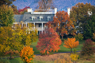 Fall Colors in Roanoke Valley, in the heart of the Blue Ridge Mountains.