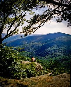 Man & Nature -Blue Ridge Parkway