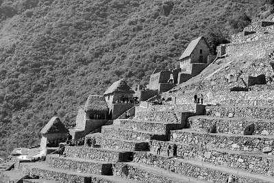 Storage houses Machu Picchu