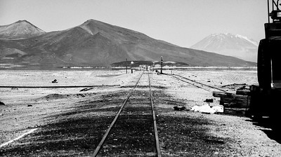 Roadway to ? Atacama Desert