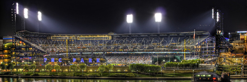 PNC Park HDR Night