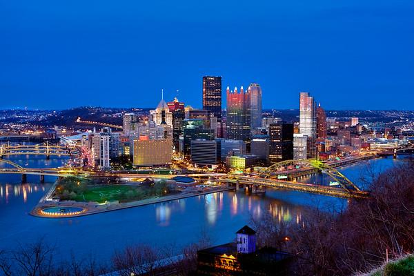 Pittsburgh from Mt. Washington