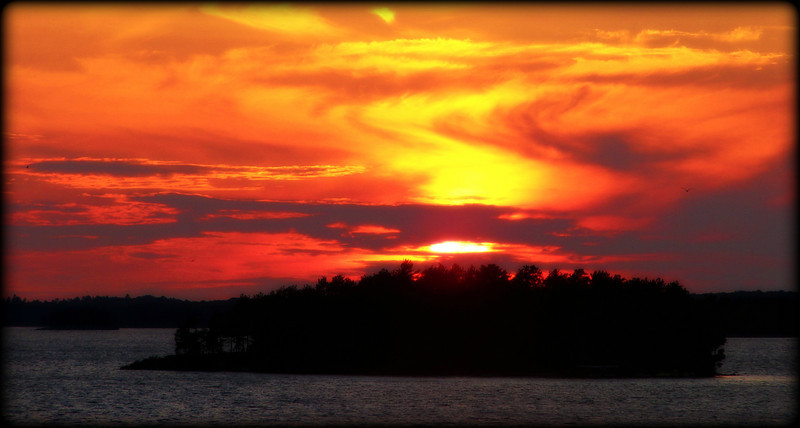 Lake Muskoka Sunset