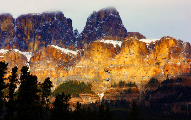 Castle Mountain, AB