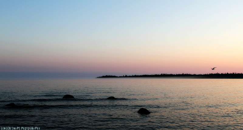 Lovely Dominion Bay, Manitoulin Island.