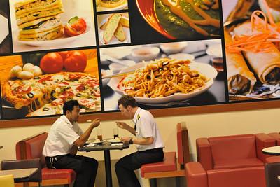 Food Court at Langkawi Airport, Malaysia