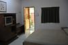 The rooms at the Kedawang Beach Inn, Pantai Cenang at Langkawi, Malaysia were at a great price and Anu booked these through Hostelworld.com