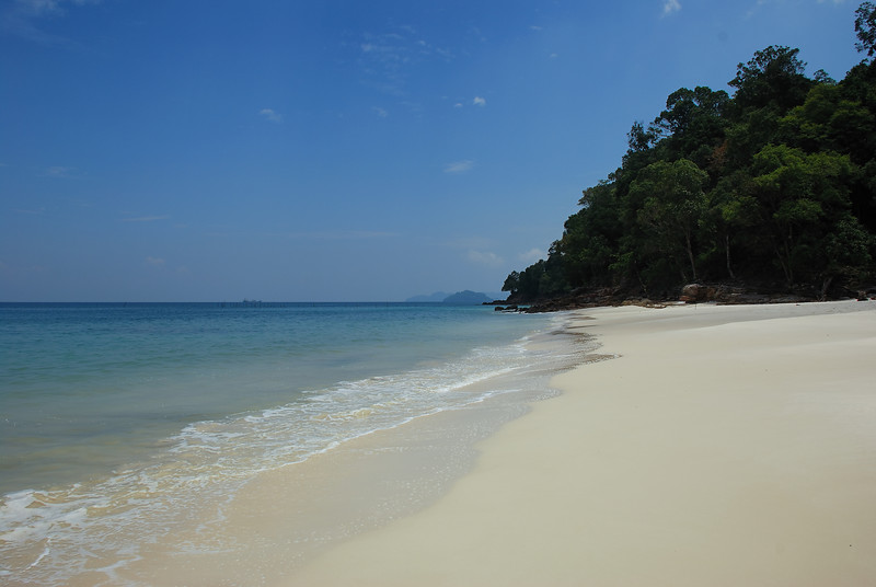 pentai tengkorak beach . north of langkawi