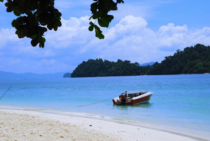 pulau beras beach