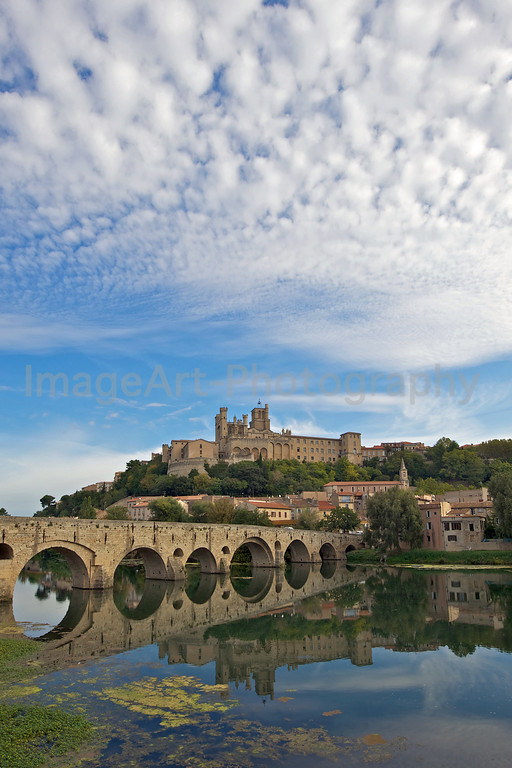 Bridge over the River Orb at Beziers