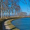 Canal du Midi in early winter