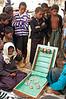 Dice Gambling Game Underneath a Village Shade Tree, Ban Tin Thad, Laos