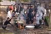 Lanten People Prepare Community Breakfast on New Years, Jan 31