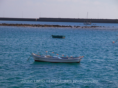 The boats of Arrecife