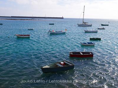 The boats of Arrecife