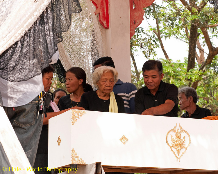 The Widow Approaches the Coffin