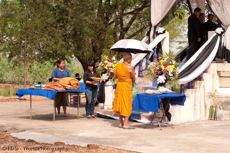Lao Loum Buddhist Funeral, Tahsang Village Northeast Thailand