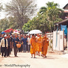 Procession to the Local Wat