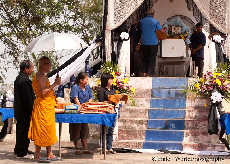 Lao Loum Buddhist Funeral, Tahsang Village Northeast Thailand