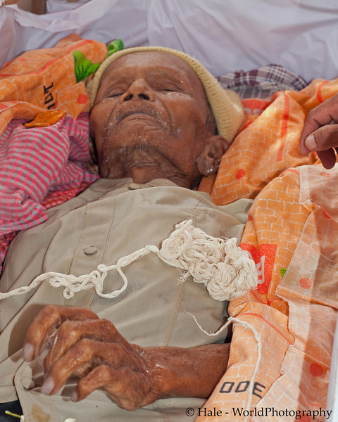 The Mortal Remains of Lao Loum Laying In State