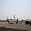 Our plane at Pakse airport