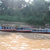 Lao style boats on the Mekong (on the way to Pak Ou caves)