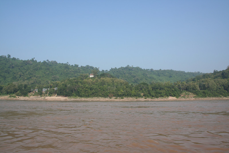 On the mighty Mekong river towards Pak Ou caves