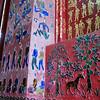 Amazing murals made up of cut glass, but not mosaics.