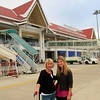 Amanda (Rizzo) & me on arrival at the LP airport.