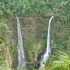 dual waterfalls of Tat Fane