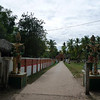 walkway to Wat Khon Tai