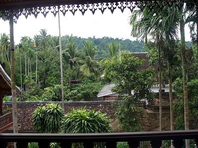 View from Villa Santi annex.