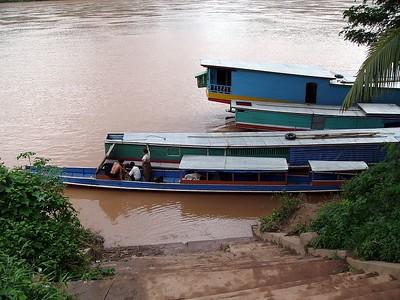 On the Mekong.