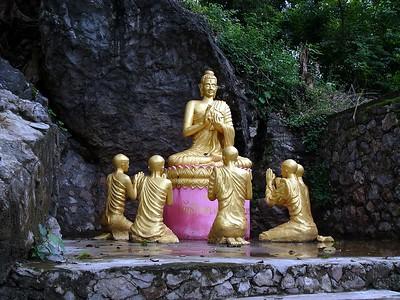 Wat on Mt. Phousi