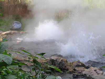 Hot springs in Chaing Mai