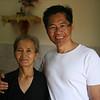 Tim and his older sister Nga.