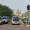 Patuxai is Vientiane's version of the Arc De Triomphe in Paris.