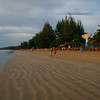 Klong Dao Beach on Ko Lanta.  This is the beach closest to town the most developed and the most popular.