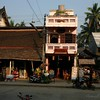 A sample of the unusual architecture of downtown Luang Prabang.