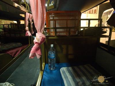 Pakse to Vientiane Sleeper Bus