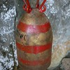 An artillery shell now serves as a bell in a nearby monastery.