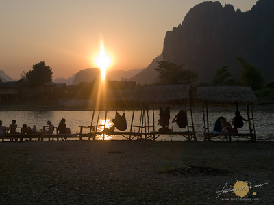 Nam Song River, Vang Vieng